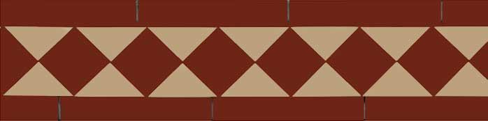 Klinkerfris - Winckelmans klassisk linne/röd