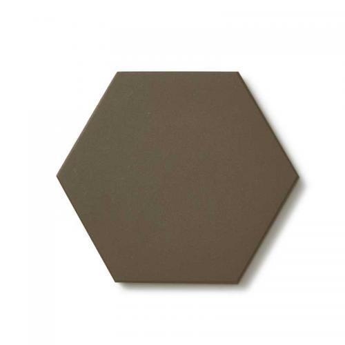 Floor tiles - Hexagon 10 x 10 cm charcoal Winckelmans
