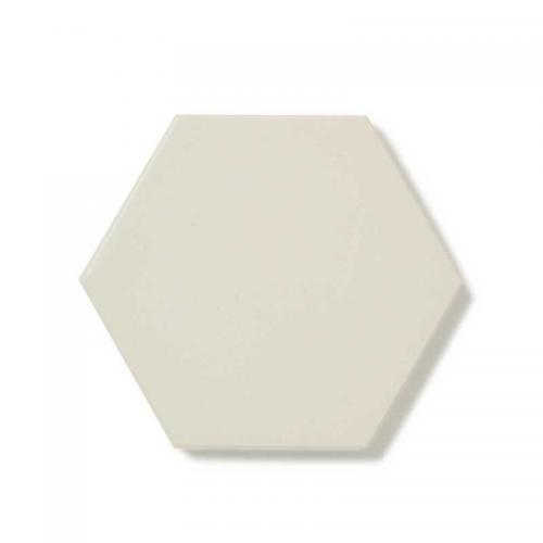 Floor tiles - Hexagon 10 x 10 cm white Winckelmans