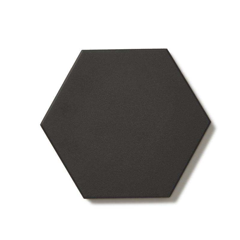 Klinker - Hexagon 10x10 cm svart