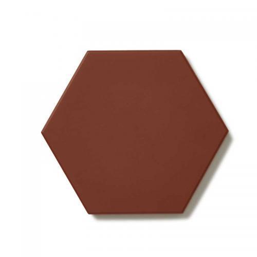 Floor tiles - Hexagon 10 x 10 cm red Winckelmans