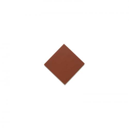Klinker - Kvadrat 3,5 x 3,5 cm röd dot