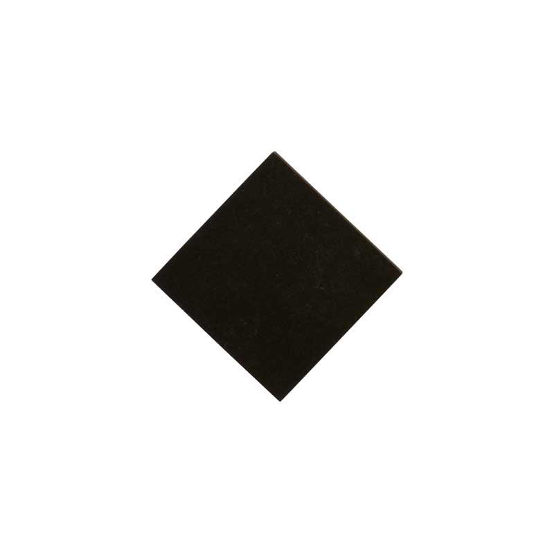 Klinker - Liten kvadrat 5 x 5 cm svart dot