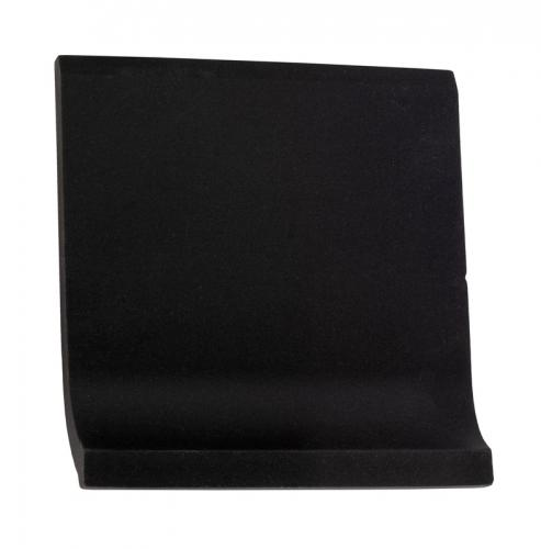 Tile - Victorian coved skirting 10 x 10 black