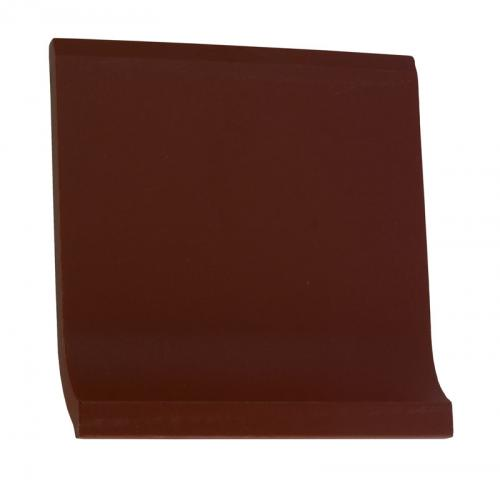 Tile - Victorian coved skirting 10 x 10 red