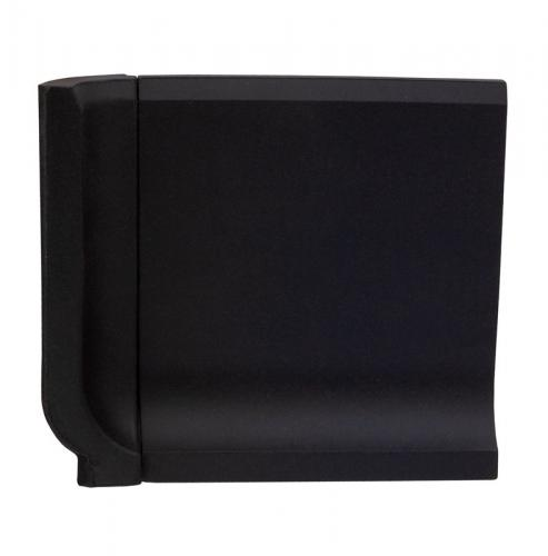 Tile - Victorian inner corner for coved skirting 10 x 10 black