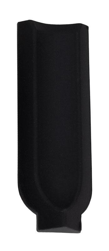 Klinker - Victorian inre hörn till golvsockel 10 x 10 svart