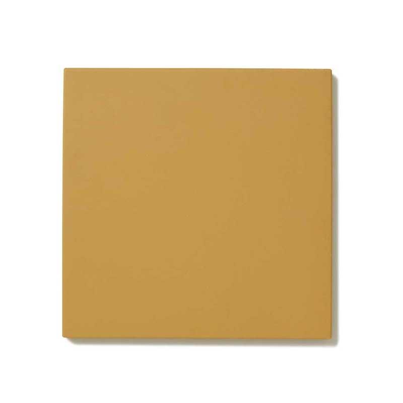 Floor tiles -  10 x 10 cm yellow Winckelmans