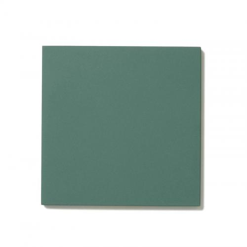Floor tiles - 10 x 10 cm dark green Winckelmans