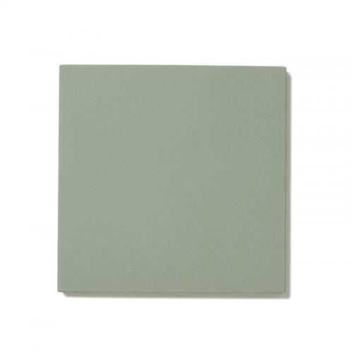 Floor tiles - 10 x 10 cm pale green Winckelmans