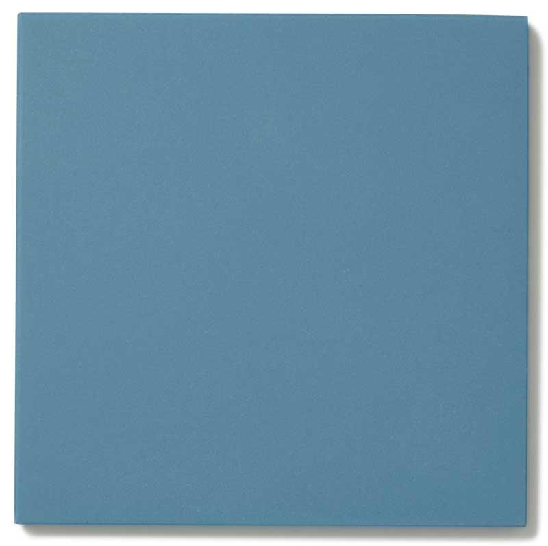 Klinker - Granitkeramik 15 x 15 cm blå Winckelmans - gammaldags inredning - klassisk stil - retro - sekelskifte