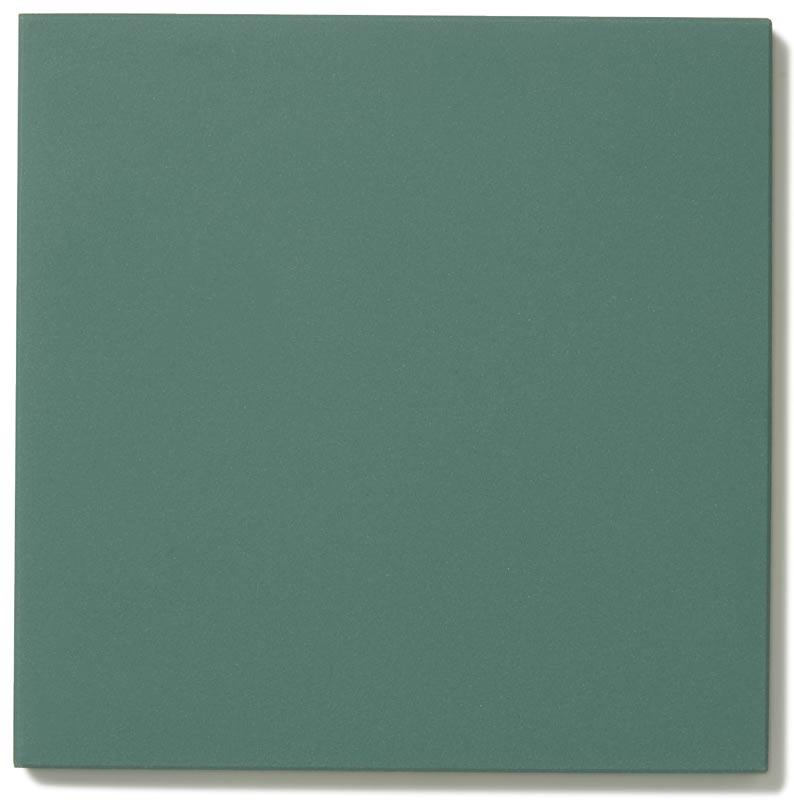 Floor tiles - 15 x 15 cm dark green Winckelmans