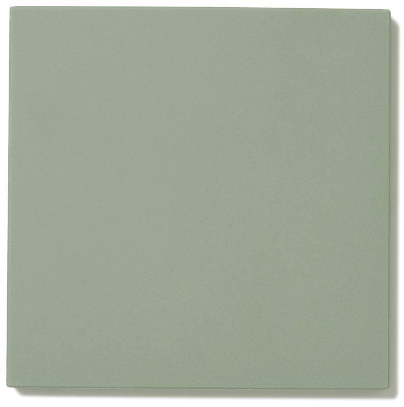 Floor tiles - 15 x 15 cm pale green Winckelmans