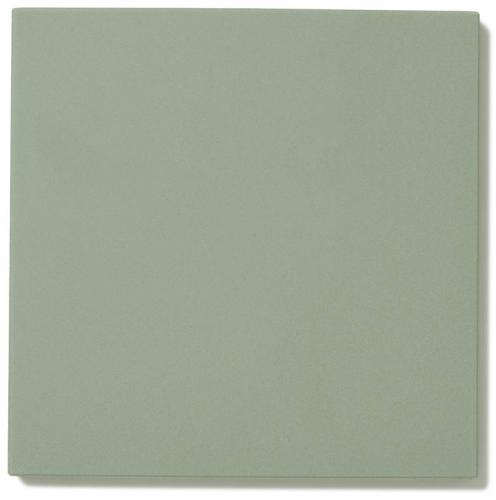 Floor tiles - 15 x 15 cm pale green Winckelmans