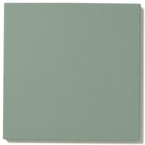 Floor tiles - 15 x 15 cm green Winckelmans