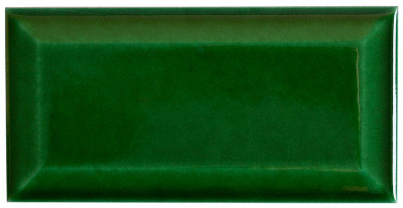 Kakel Victoria - Fasad kant 7,5 x 15 cm buteljgrön
