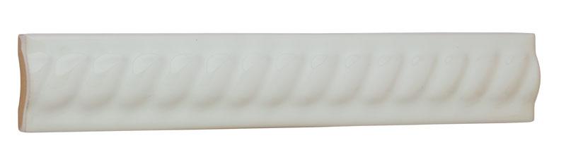 Tile Victoria - Decorative groovs 2.5 x 15 cm white, glossy
