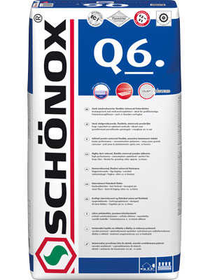 Fix Schönox Q6 - for tiles - old style - classic interior - vintage style - old fashioned
