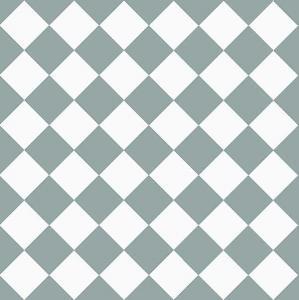 Granitklinker - Schackrutigt 10 x 10 cm gråblå/vit