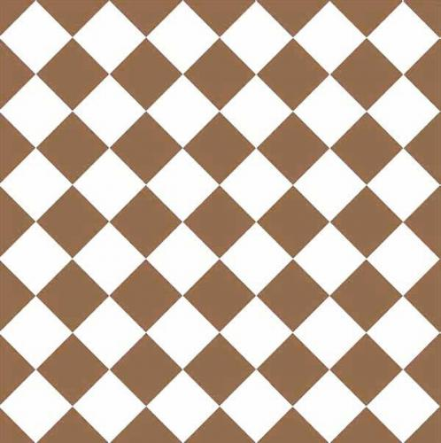 Granitklinker - Schackrutigt 10 x 10 cm kaffebrun/vit