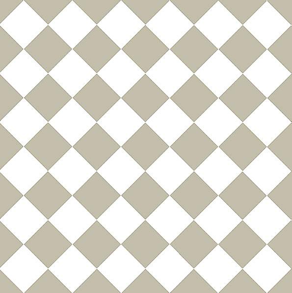 Granitklinker - Schackrutigt 10 x 10 cm pärlgrå/vit - sekelskiftesstil - gammaldags inredning - klassisk stil - retro