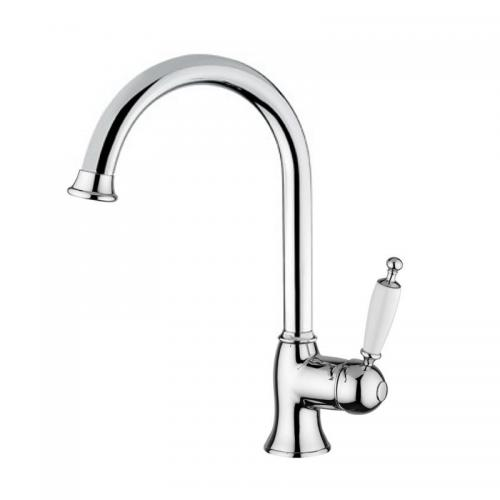 Kitchen mixer - Oxford gooseneck chrome