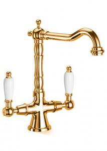 Kitchen mixer - Chelsea brass