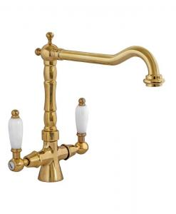 Kitchen mixer - Chelsea brass