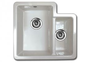Kitchen Sink Porcelain - Shaws Classic Brindle - old style - retro - old fashioned