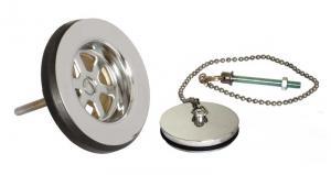 Drain valve - chrome
