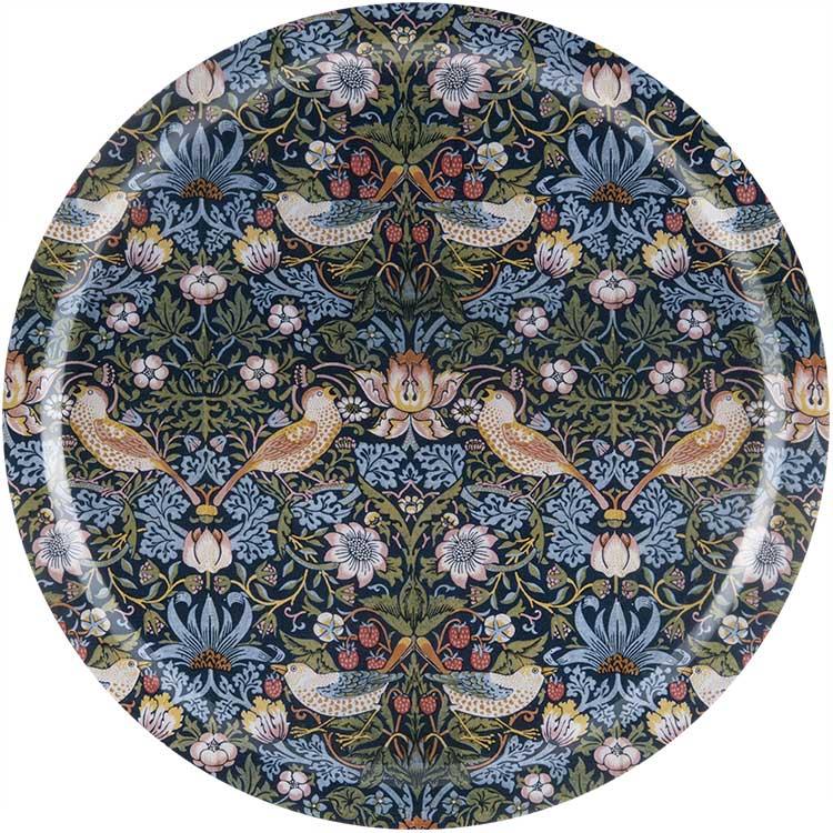 Tray 49 cm - William Morris, Strawberry Thief
