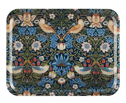 Bricka 43 x 33 cm - William Morris, Strawberry Thief