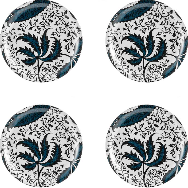 Coasters 4 pcs - William Morris, Indian Indigo