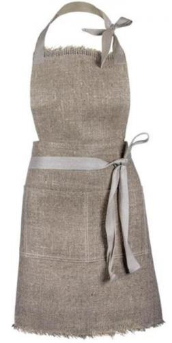 Chest apron - Linen 50 cm natural