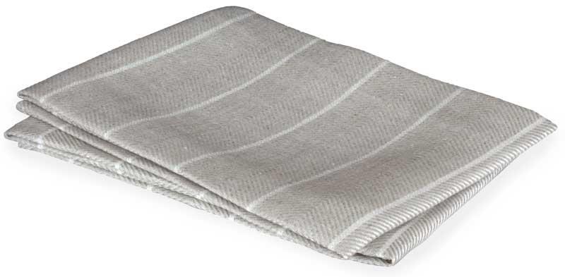 Kitchen towel - Herringbone pattern, natural