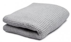 Guest towel - Washed Linen 50x65 cm, light grey
