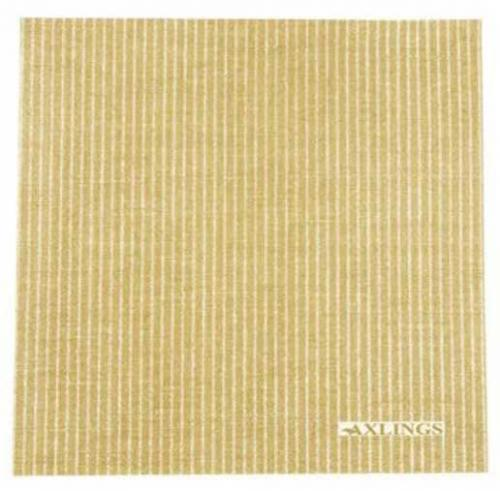Paper napkin - Pinstripe 40 x 40 cm ochre