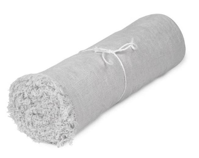Runner - Linen 45x250 cm, rustic grey