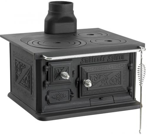 Wood stove - Smålandspisen 28 (U) - old style - retro - classic