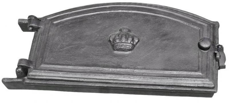 Ovnsdør - Støpejern 45 x 24 cm - arvestykke - gammeldags dekor - klassisk stil - retro