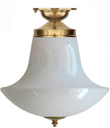 Bathroom Lamp - Lundkvist 100 Anchor brass