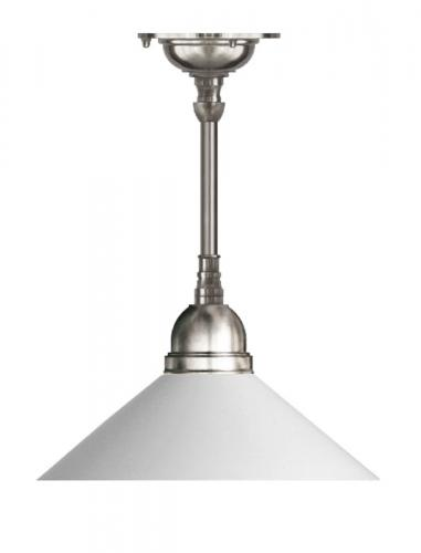 Ceiling Lamp - Byström 60 nickel, opal white shade