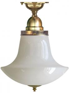 Bathroom Ceiling Lamp - Byström 100, anchor shade