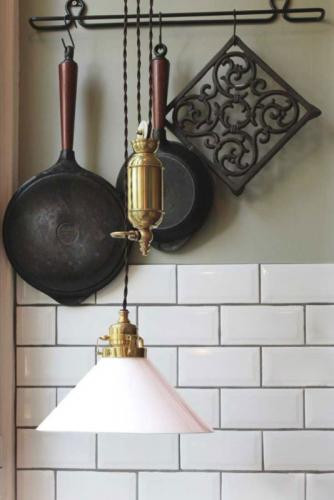 Lamp - Craftmans pendant - old style - vintage interior - old fashioned style - classic interior