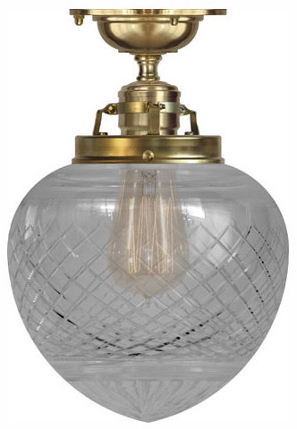 Ceiling lamp - Craftmans Pendant clear drop