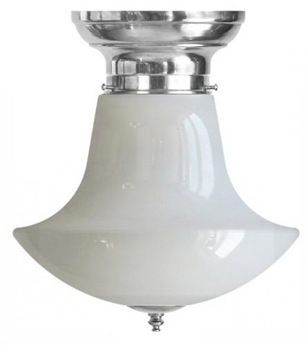 Ceiling Lamp - Frödingsplafon 100 nickel ball funnel screen - old style - classic interior - oldschool style - vintage
