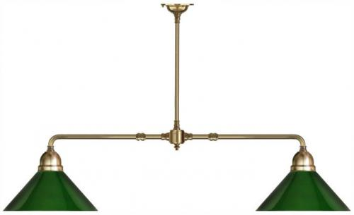 Taklampa - Spelbordslampa Grön Skärm