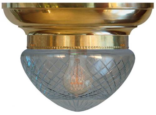 Bowl Lamp - Fröding 200 clear glass