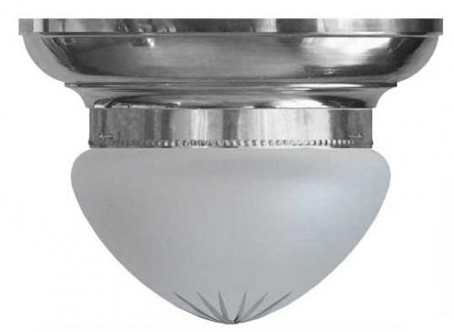 Bowl Lamp - Fröding 200 nickel matte glass