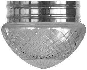 Plafond - Taklampa Heidenstamplafond 200 slipat mattglas - Sekelskifte